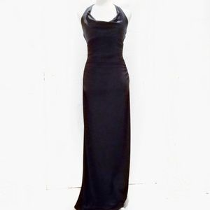 Laundry 2 black dress gown formal halter long